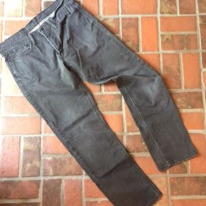 Men's dark grey Levi jeans 541.